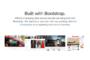BootstrapでWeb初心者でも簡単におしゃれなWebサイトが作れる
